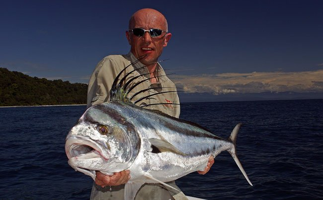 What an amazing Rooster fish Big Game Fishing Report