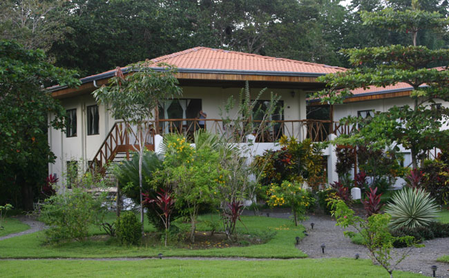 The accommodation at Crocodile Bay Big Game Fishing Report