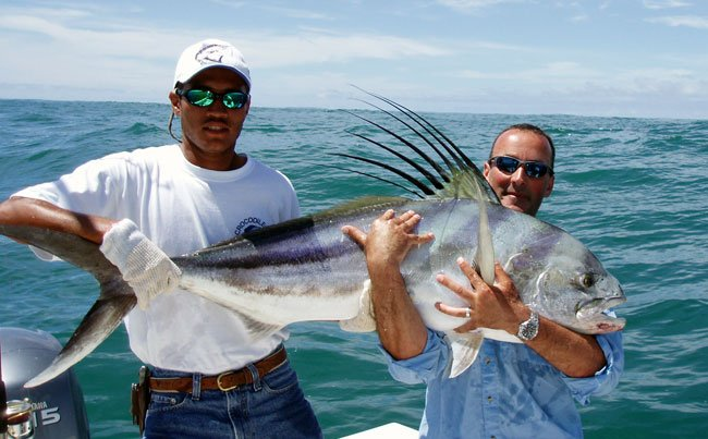 Look at the fins on that rooster fish Big Game Fishing Report