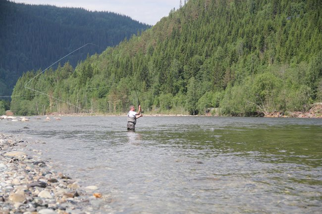 Salmon spey casting destinations for salmon fly fishing and to practice your Spey Fishing Etiquette