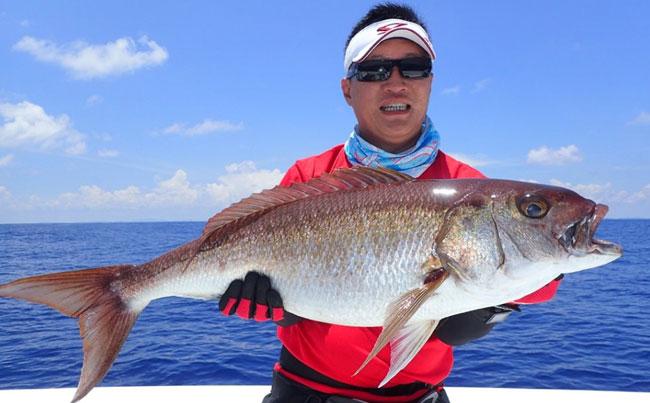 A snapper of some description SriLanka Fishing Report