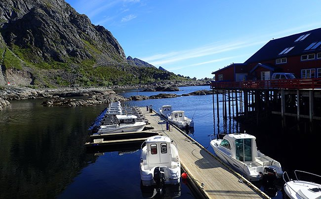 Fishing Report Norway of the most stunning camps in Norway