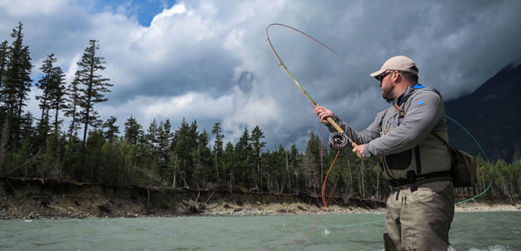 Spey casting for salmon & steelhead