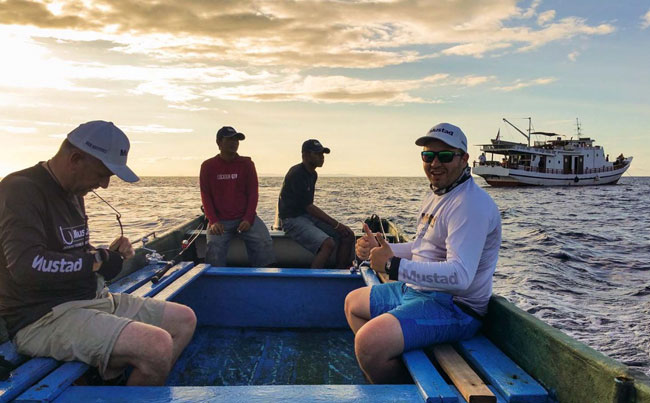 Anglers going fishing from Indonesia Fishing Report