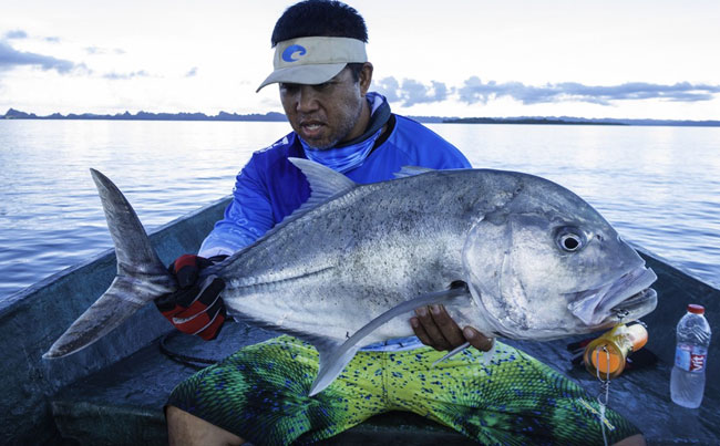 A smaller Gt from Indonesia Fishing Report