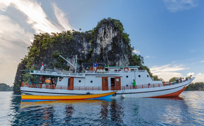Indonesia Fishing Report Of our live aboard boat