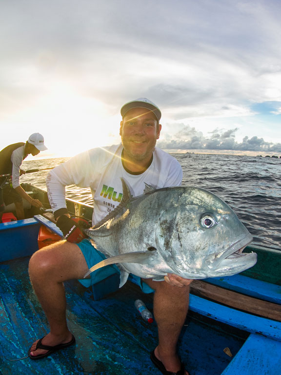 Indonesia Fishing Report of yet another very big GT