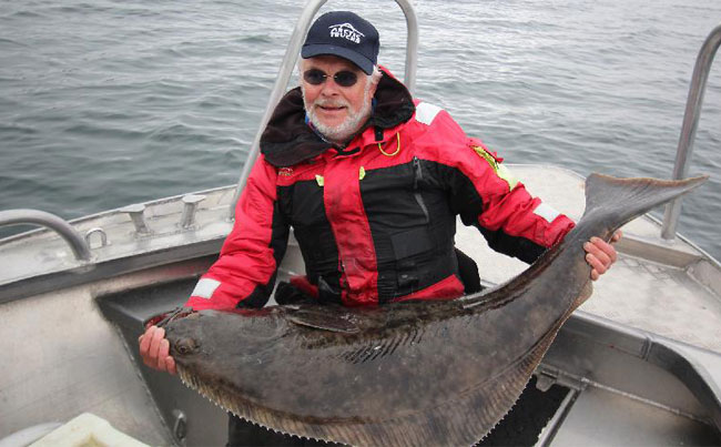 Norway Fishing Report on the massive Halibut
