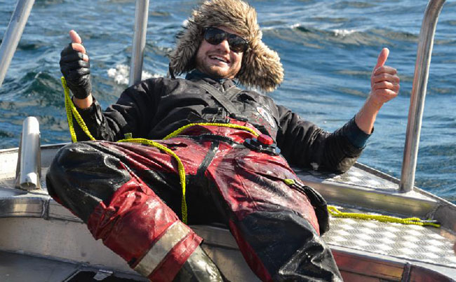 One happy angler from our Norway Fishing Report