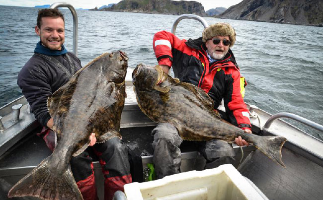 Very happy friends fishing in Norway Fishing Report