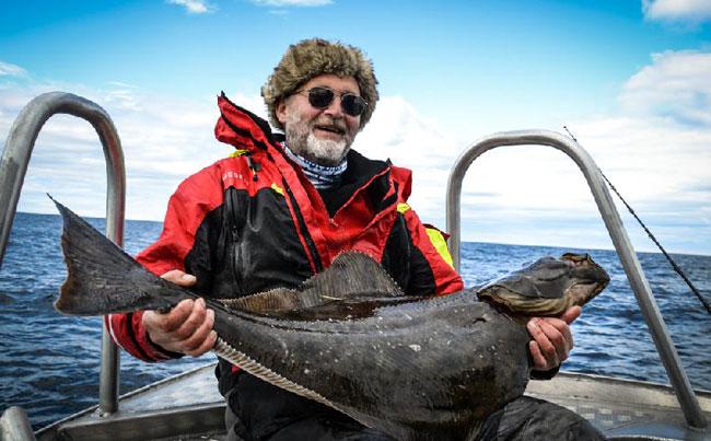 Blue Skies Halibut Norway Fishing Report