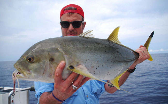 The smaller species of fish in this Sri Lanka Fishing Report are amazing