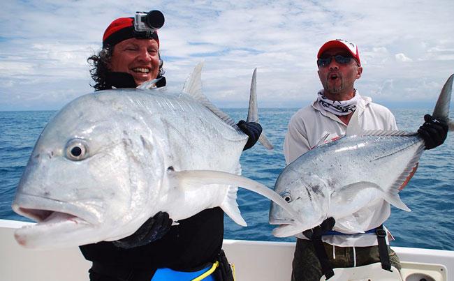 Double GT Trouble Sri Lanka Fishing Report