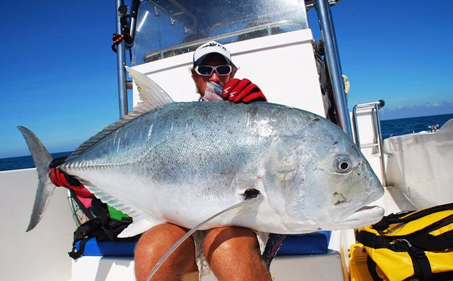 GT fishing is tough Sri Lanka Fishing Report