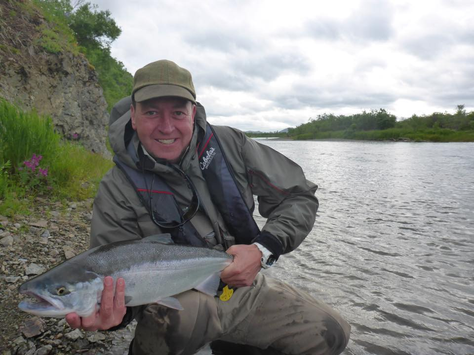 a real fresh sockeye salmon Hosted Bristol Bay Lodge Report