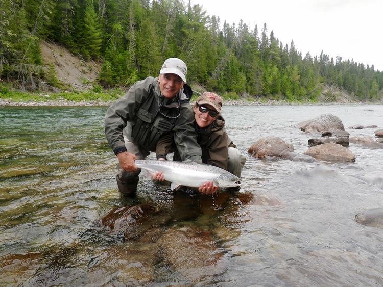 Camp Bonaventure Fishing River Report July