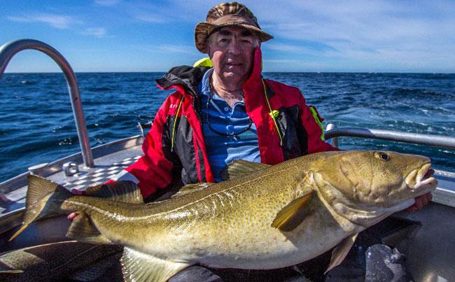 56Lb Cod Fishing Report Norway Å