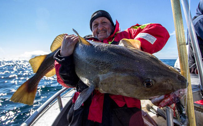 Monster cod for turkish angler Fishing Report Norway