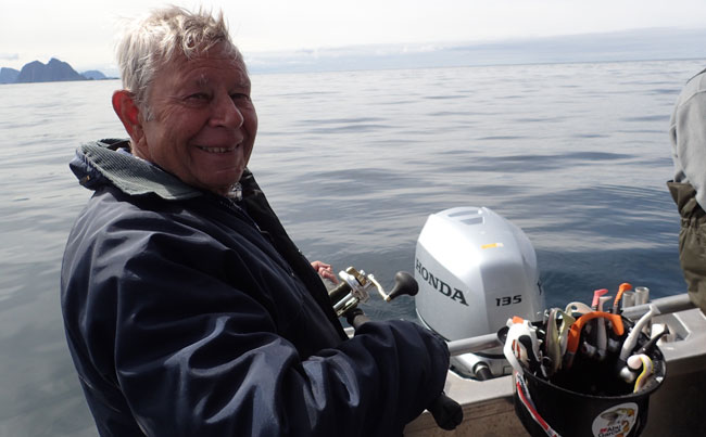 Flat calm seas in the Fishing Report Norway