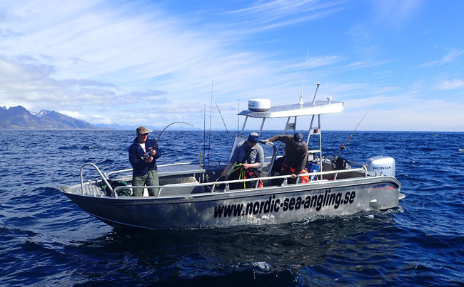 Fishing Report Norway and the boats we use