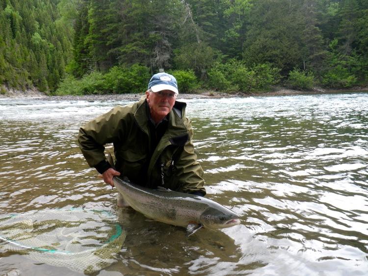 Camp Bonaventure fishing report June