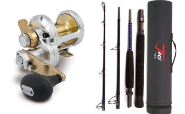 Rods and reels that feature in our Norway Fishing Report