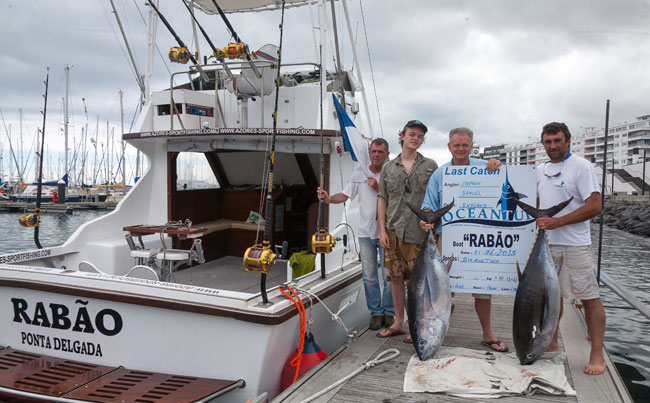 Big game boat in Azores fishing report