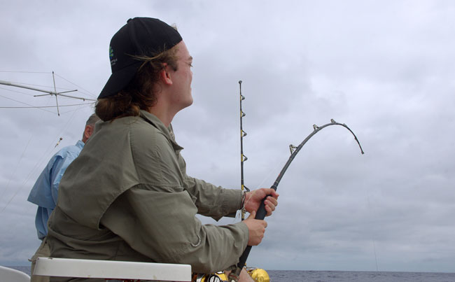 Azores fishing report of some Tuna action