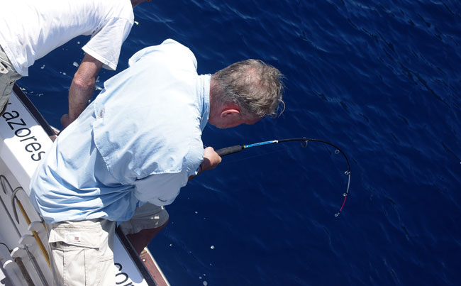 bottom fishing in the Azores fishing report