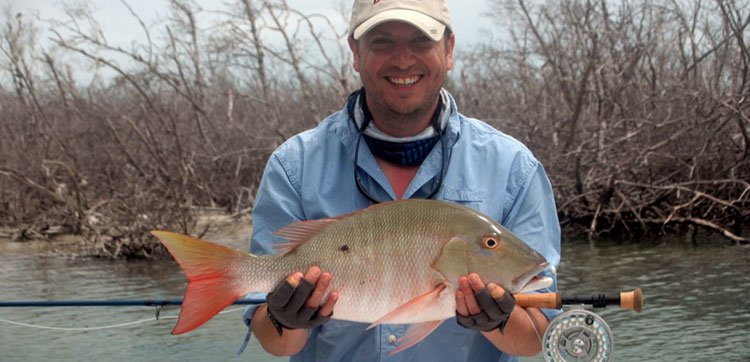 Hosted Jack Simpson fly fishing Cuba