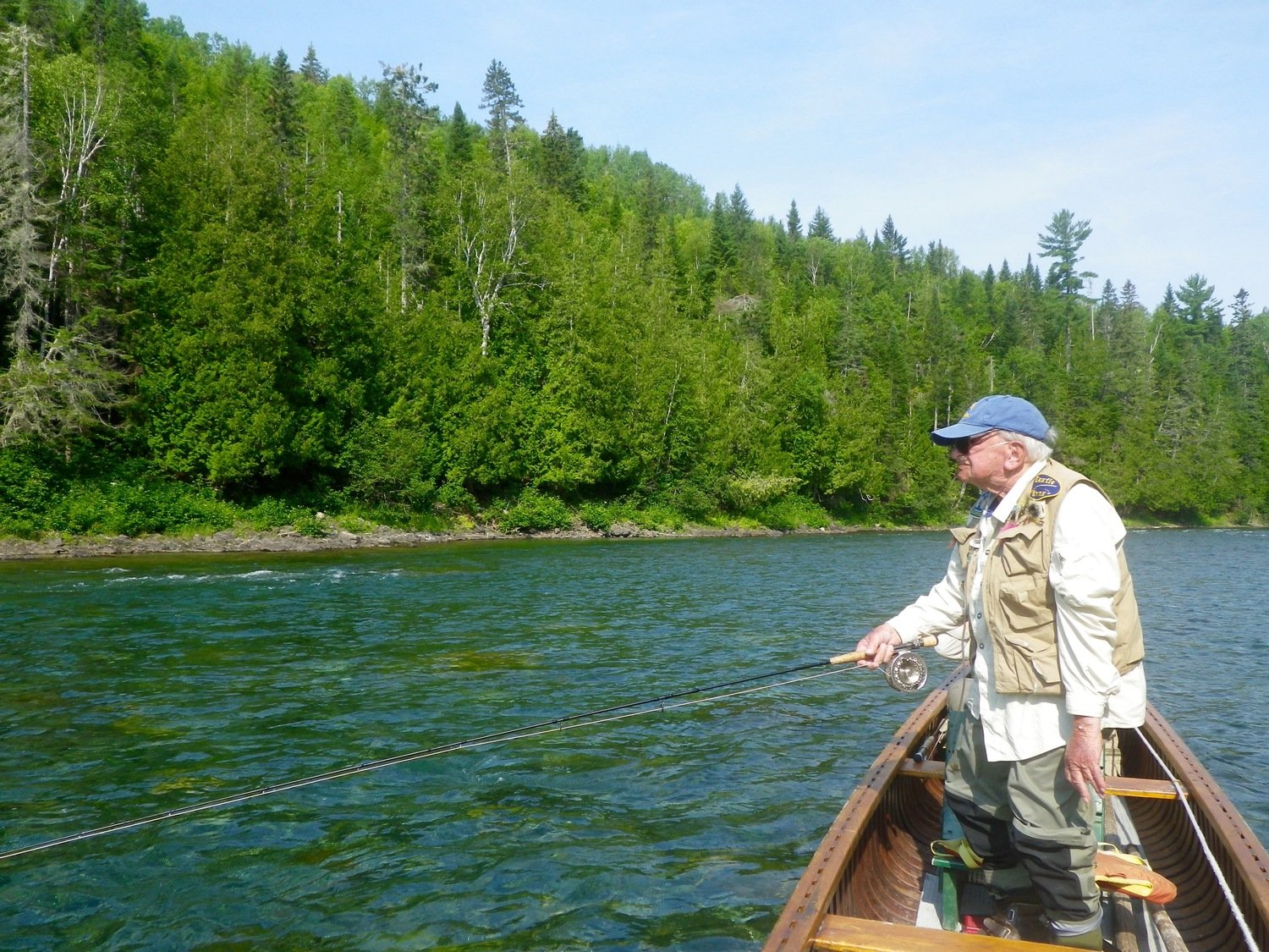 Camp bonaventure fishing report aug 17th to 23rd for Salmon fishing canada