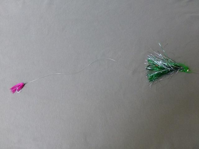 Salmon fly fishing flies