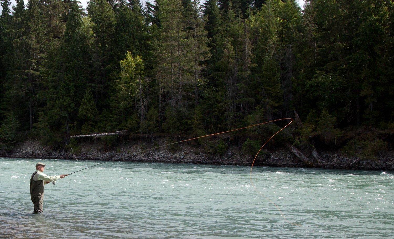 Peter Collingsworth Salmon Fishing British Columbia