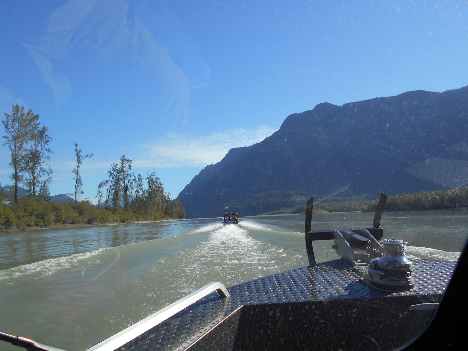 The boats we sue in Canada are the best Fishing Report Canada