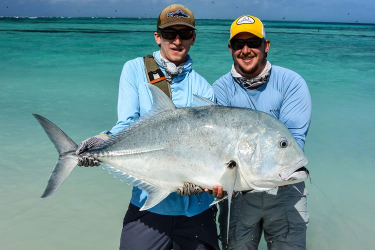 GT fishing does not get much better than in the Seychelles