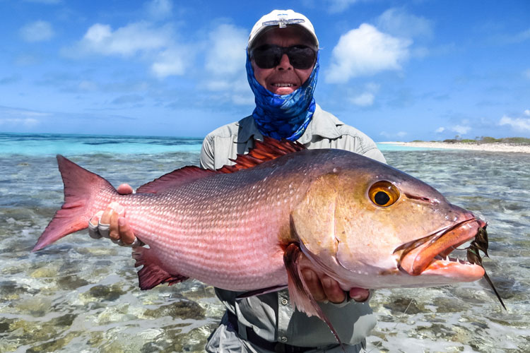 Fly fishing in the seychelles with our farquhar fishing report