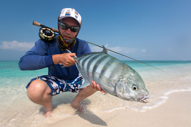 New Giant Trevally Triangle Lakshadweep Islands