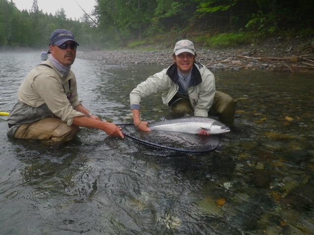 Camp Bonaventure & Salmon Lodge Fishing Report