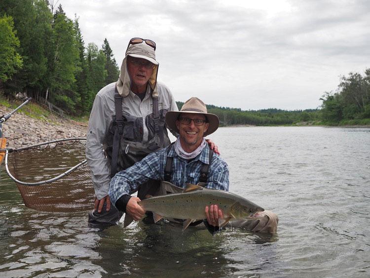 Salmon Lodge & Camp Bonaventure Fishing Report