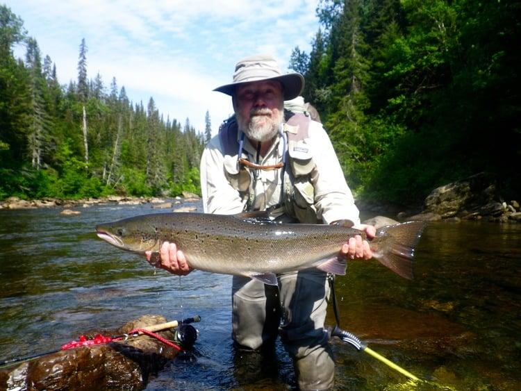 Bonaventure Salmon Lodge Report Aug