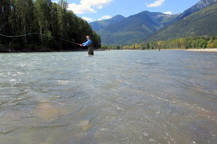 Hosted Salmon Fishing Report