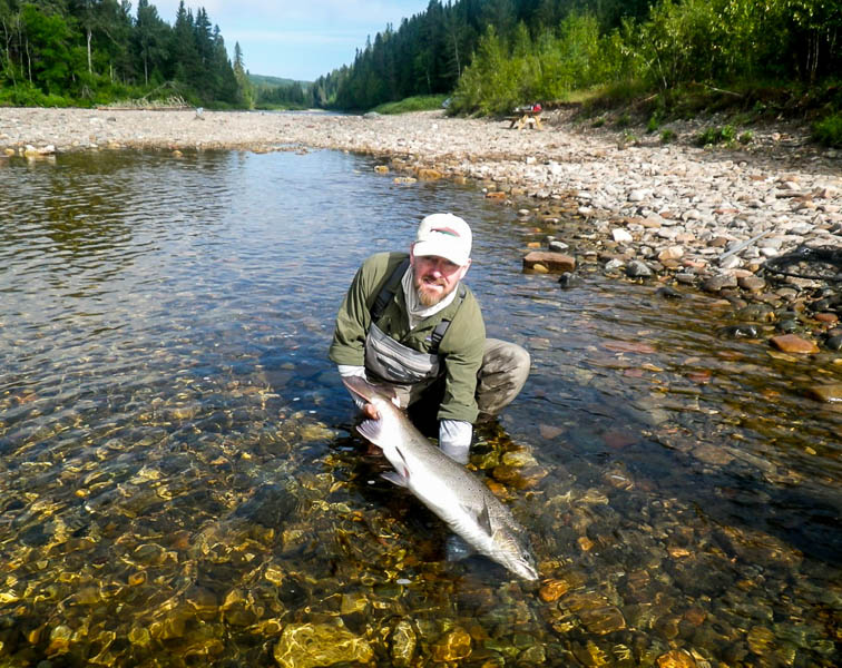 Salmon Fly Fishing Canada