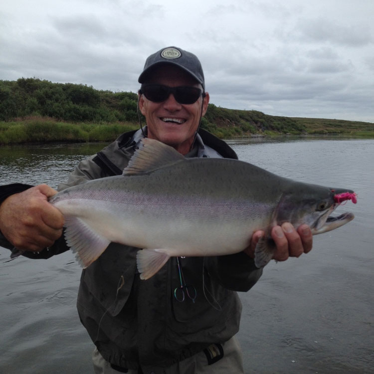 Goodnews River Lodge Fishing Report August