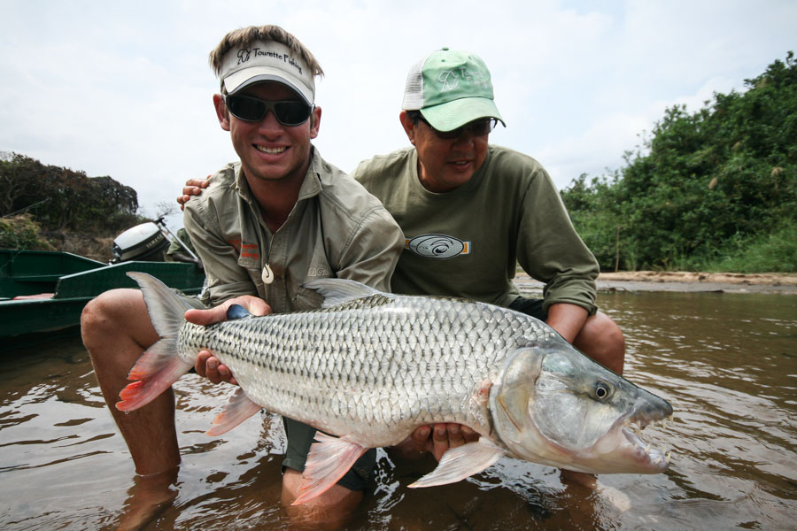 Fly Fishing for Monster Tigerfish