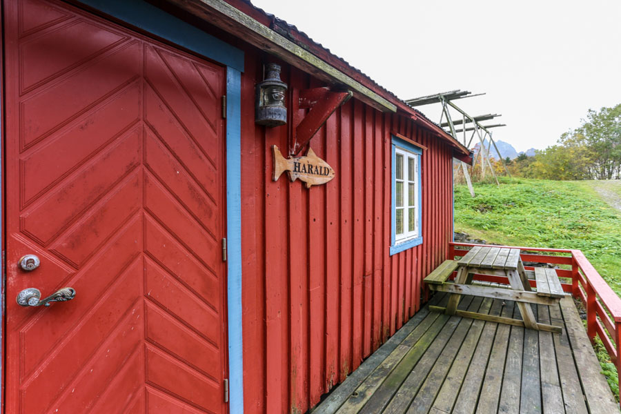 A fishing cabin at Å in Norway