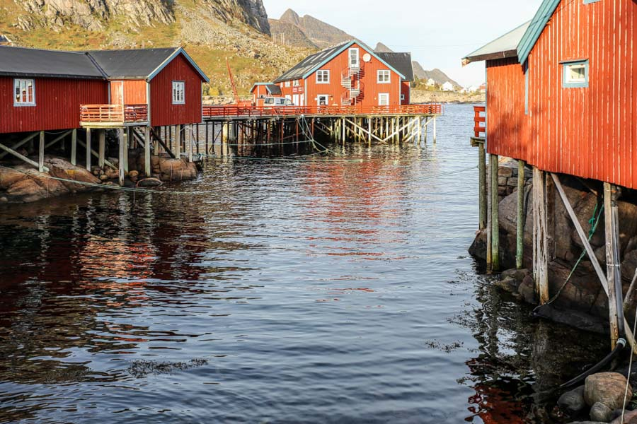 The sea view from A Lofoten