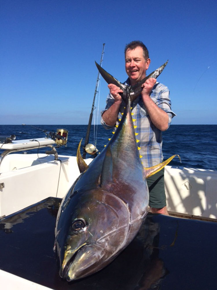 Yellowfin Tuna Fishing Cape Town South Africa