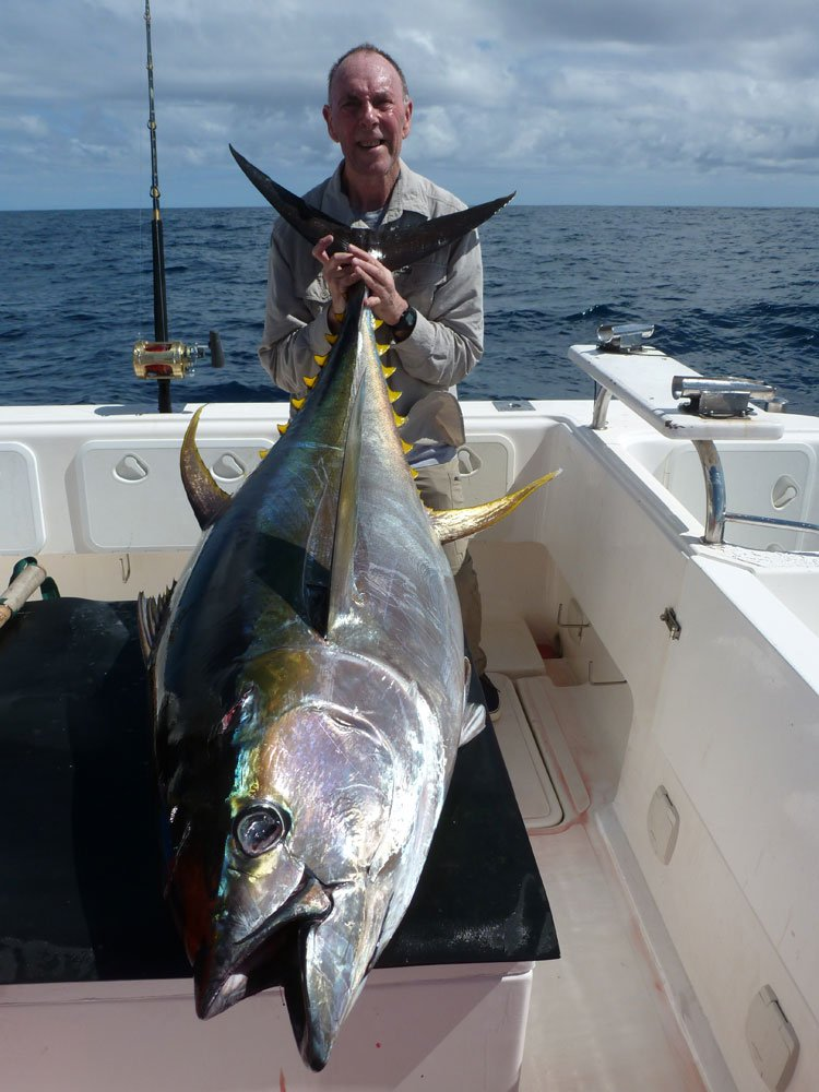 Mike christine 39 s south africa yellowfin tuna review for Tuna fishing games