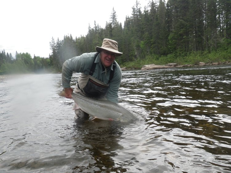 Salmon Lodge Fishing & River Report Middle June