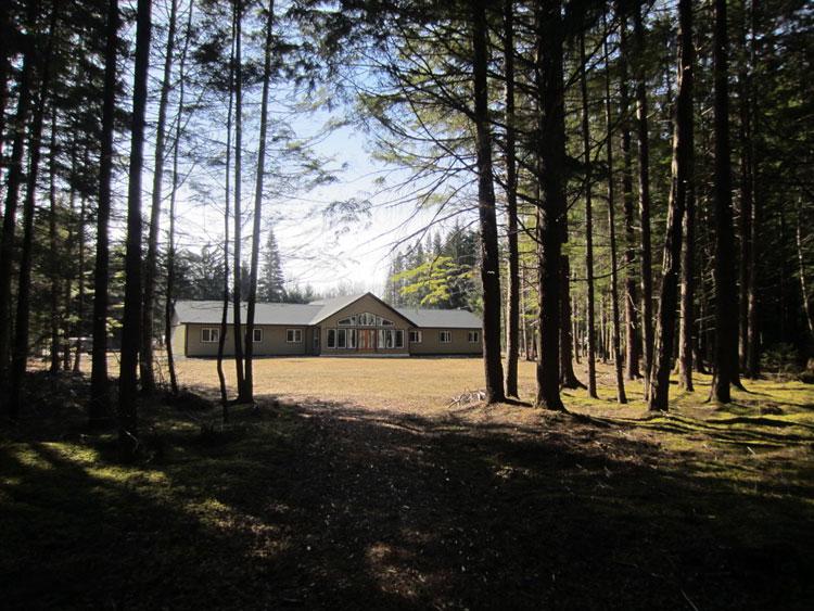 Brand New Wild River Lodge